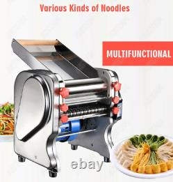 Pasta Noodle Maker Electric Machine Automatic Dough Roller Dumpling Stainless