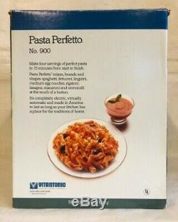 Pasta Perfetto 900 Electric Pasta Maker Vitantonio Kitchen Machine Vintage