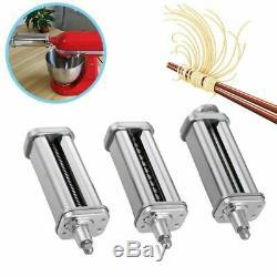 Pasta Roller Cutter Attachment For Kitchenaid Noodle Maker Spaghetti Machine