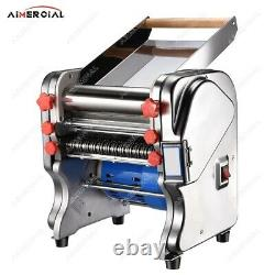 Pasta noodle maker machine with changeable dough roller and blade electric