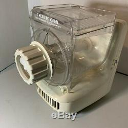 Popeil P400 Automatic Pasta Sausage Maker Machine + Attachments, Recipes, VHS