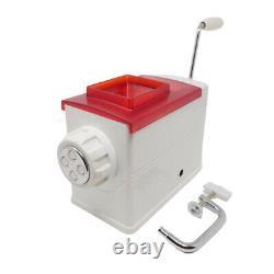 REGINA Atlas Marcato Multisystem Manual Pasta Extruder Maker Machine, Red Top