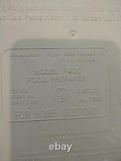 Ronco Popeil Automatic Pasta Machine / Maker P400