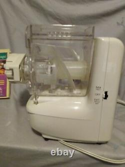Ronco Popeil P400 Automatic Pasta Maker Machine With Manual