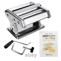 Small Household Fresh Pasta Press Manual Noodle Rolling Maker Machine /