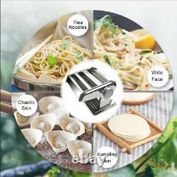 Small Household Fresh Pasta Press Manual Noodle Rolling Maker Machine CN CA