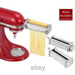 Spaghetti Fettuccine Pasta Maker Machine Attachment for KitchenAid Stand Mixer