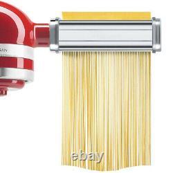 Spaghetti Fettuccine Pasta Maker Machine Attachment for KitchenAid Stand Mixer A