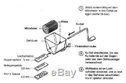 Spätzle Hex Metall Spaetzle Spätzlehex Pasta Machine A Pates Nudelmaschine Metal