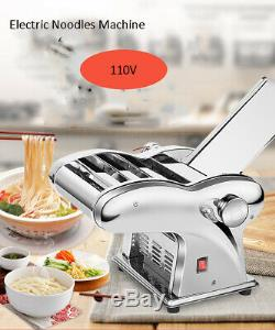 Stainless Steel Electric Pasta Maker Noodles Dough Roller Machine 2.5mm Cutter
