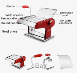 Stainless Steel Fresh Pasta Maker Noodle Machine Dumpling Skin Home 3 Knifes