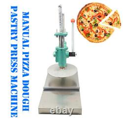 TECHTONGDA 9.5 inch Household Pizza Dough Pastry Manual Press Machine Bigger