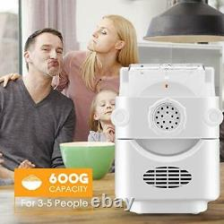 TTLIFE Electric Pasta Maker Machine 180W Stainless Steel Automatic Noodle Making