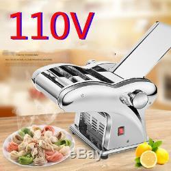 US 110V Electric Dumpling Dough Skin Noodles Pasta Maker Machine Home Commercial