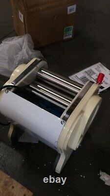 Used 110V Stainless Steel Electric Pasta Press Maker Noodle Machine Wide Knife