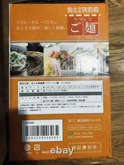VERSOS Washable Noodle Making Machine Udon-Soba Ramen Plus VS-KE19