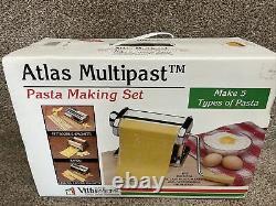 Villaware Marcato Atlas Multipast 175 5 Pasta Maker Machine Lasagna Ravioli