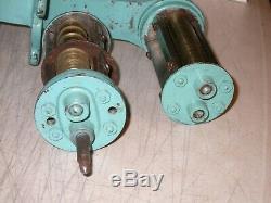 Vintage Burk Germany Noodle / Pasta Machine Roller Cutter Original Dies