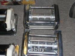 Vintage Italy Imperia sp150 2 Pasta + 2 Ravioli Machine Maker HEAVY Steel