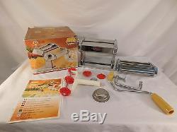 Vintage Marcato Atlas & Pastabike Pasta Machine Made In Italy