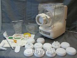 Vintage Ronco Popeil P400 Automatic Pasta Maker Machine w 12 Dies & Accessories
