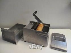 Vintage SAVOY Hand-crank Pasta Noodle Maker Roller Machine Kitchen Gadget Nice
