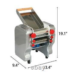 110v Commercial Electric Pasta Maker Dumpling Skin Press Nouilles Machine 370-550w