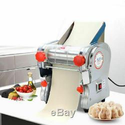 110v Commercial Electric Pasta Maker Pâte Rouleau De Nouilles Machine 2 MM / 6 MM Couteau