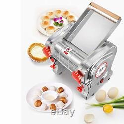 110v Électrique En Acier Inoxydable 750w Commerciale Pâtes Maker Nouilles Machine 3 MM / 9 MM