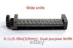 110v Large Couteau Électrique Pâtes Presse Maker Nouilles Dumpling Machine 3 MM Et 9 MM