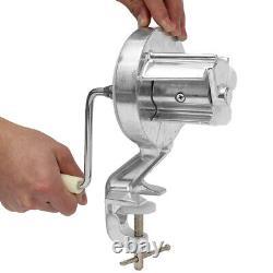 12'' Pasta Noodle Maker Fruit Juicer Presse Spaghetti Maison Kitchen Maker Machin