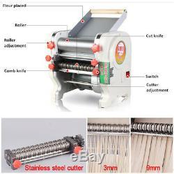220 V Accueil Commercial Acier Électrique Pâtes Inoxydable Presse Maker Machine De Nouilles
