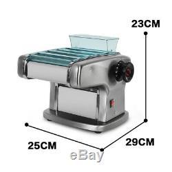 220 V Pâtes En Acier Inoxydable Électrique Spaghetti Machine 2 MM 2,5 MM 4 MM 9 MM Cutter