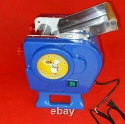 220v Electric Pasta Machine Maker Press Machine À Nouilles Produisant Utilisé Pour Appuyer