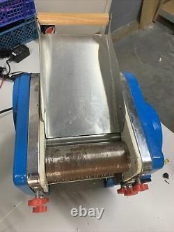 220v Electric Pasta Maker Dumpling Skin Roller Nouilles Machine