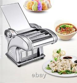 220v Électrique Dumpling Dough Skin Noodles Machine De Fabrication De Pâtes Automatique 135w
