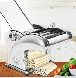 220v Électrique Pasta Maker Boulette Pâte Peau Nouilles Machine En Acier Inoxydable