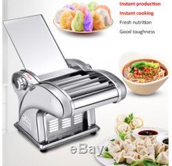 220v Électrique Pasta Maker Nouilles Machine Dumpling Maker Peau Pour Home Restaurant