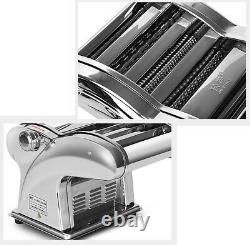 220v Stainless Steel Electric Pasta Maker Dumpling Dough Skin Noodles Machine