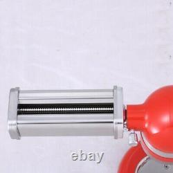 3x Pâtes Rouleau Maker Machine Cutter Pour Kitchen Aid Mixer Fixation En Acier
