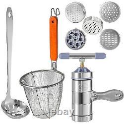 5kw Pasta Maker Machine Commercial 4 Trous Noodles Cooker Avec Panier À Filtre