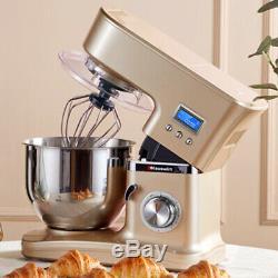 5l Électrique 1200w En Acier Inoxydable Pâte Mixer Pâtes Nouilles Maker Chef De La Machine