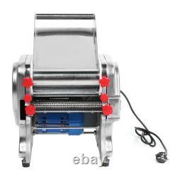 750w Électrique Nouilles Pasta Maker Spaghetti Machine Dumpling Dough Skin Roller