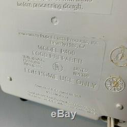 Automatique Pâtes Popeil P400 Saucisse Maker Machine + Accessoires, Recettes, Vhs