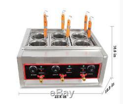 Cuisinière Électrique Pâtes Nouilles Cuisinière Électrique Machine À Pâtes De Cuisson 6 Trous 220v