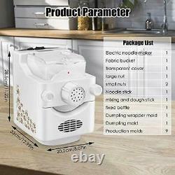 Electric Pasta And Ramen Noodle Maker Machine, Machine Automatique De Fabricant De Nouilles
