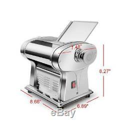 Électrique Pasta Maker Noodle Maker Rouleau Machine 6 Épaisseur Réglage 1 Cutter