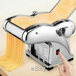 Électrique Pasta Maker Noodle Maker Rouleau Machine 6 Épaisseur Réglage 4 Cutters K