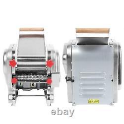 Fabricant De Pâtes Électriques Machine À Rouleaux De Nouilles En Acier Inoxydable 220v Ménage