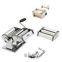 Gefu 28300 Audio Silver Machine À Pâtes Pasta Perfetta De Luxe Gf28300